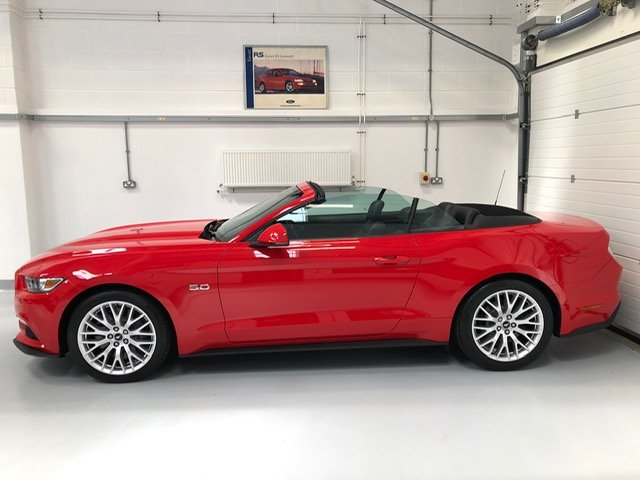 Exceptional 2016 5 Litre V8 Mustang GT - Convertible SOLD (picture 5 of 6)