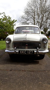 1956  MKI Ford Consul in Ermine White For Sale