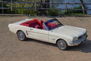 1966 Ford Mustang V8 Convertible SOLD