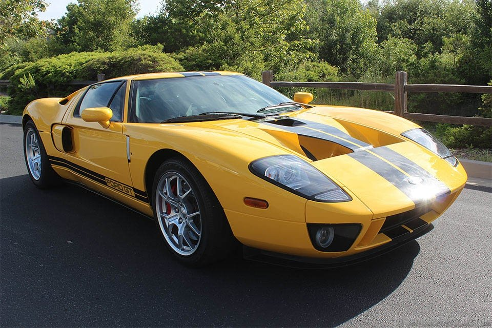 2850 2006 Ford GT = clean Yellow(~)Black low 6.2k miles  $285k For Sale (picture 1 of 6)