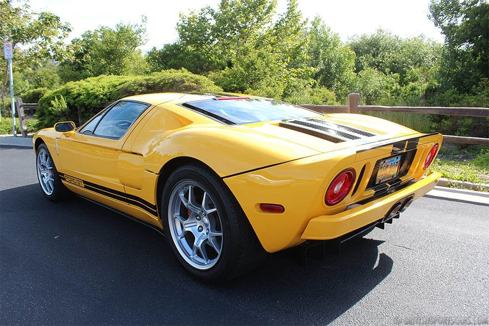2850 2006 Ford GT = clean Yellow(~)Black low 6.2k miles  $285k For Sale (picture 2 of 6)
