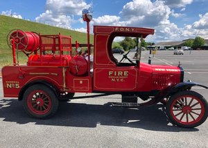 1925 Ford Model T Fire Truck SOLD by Auction