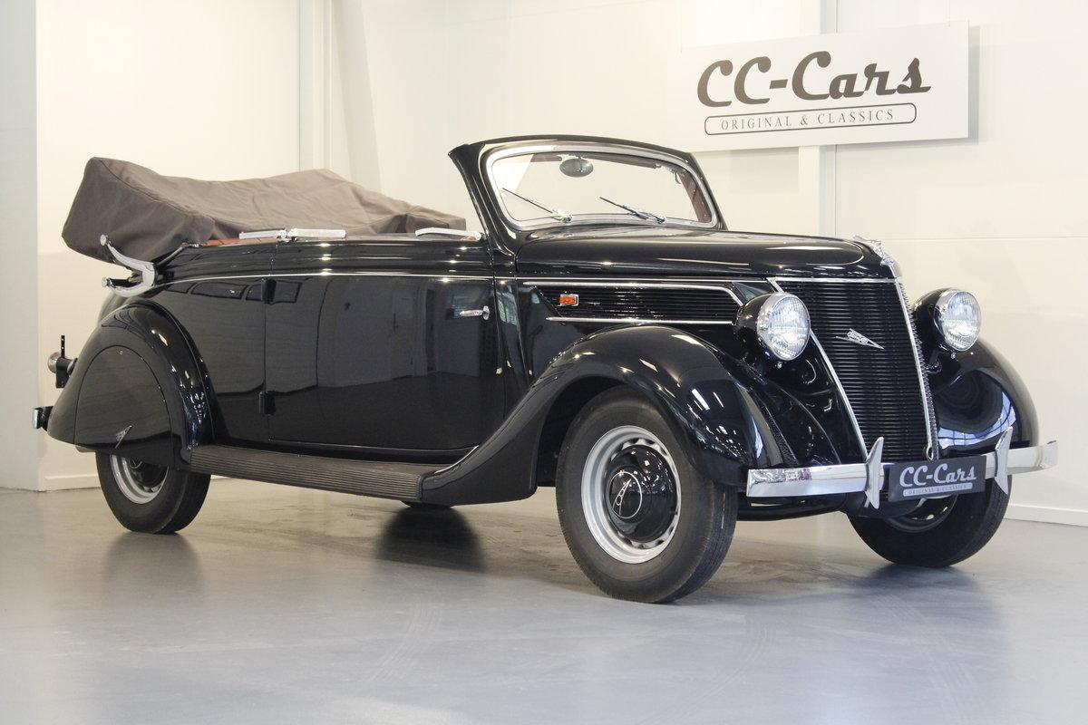 1937 Ford V8 Gläser Cabriolet For Sale (picture 1 of 6)