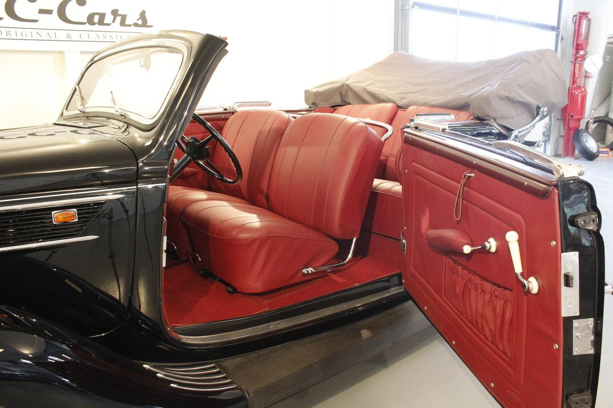 1937 Ford V8 Gläser Cabriolet For Sale (picture 3 of 6)