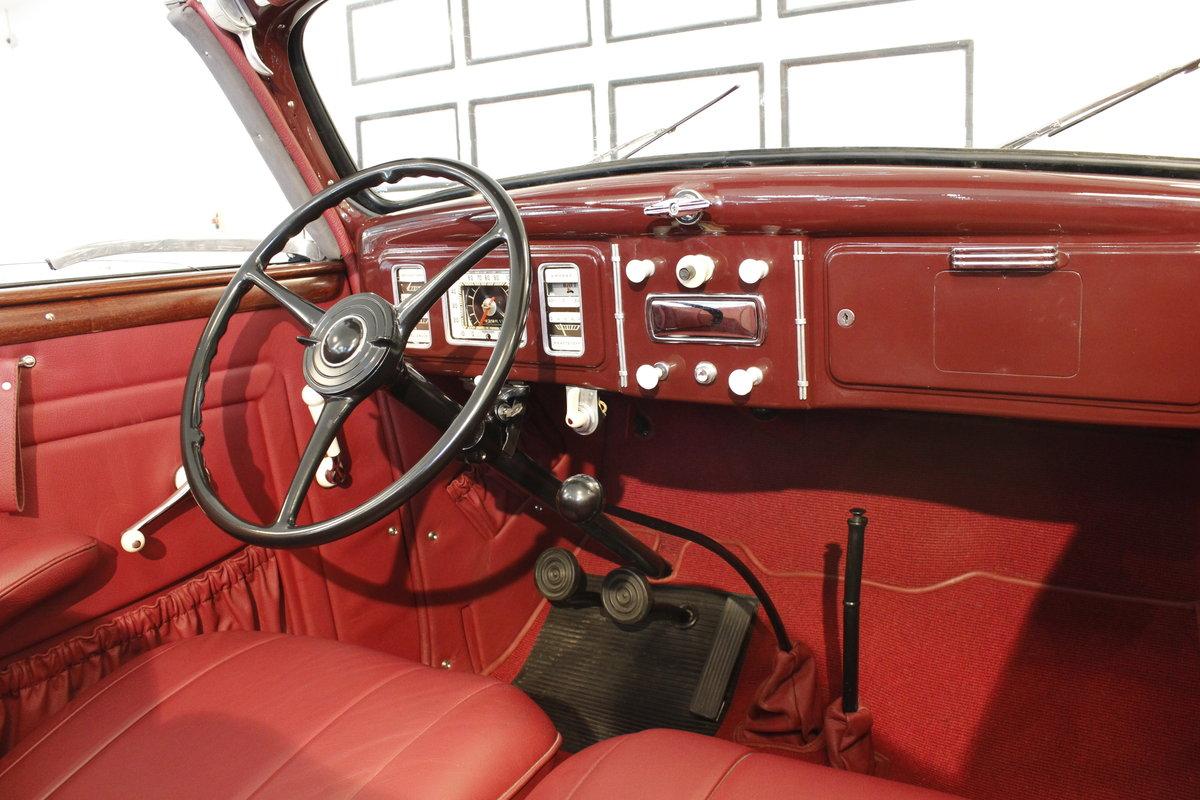 1937 Ford V8 Gläser Cabriolet For Sale (picture 4 of 6)