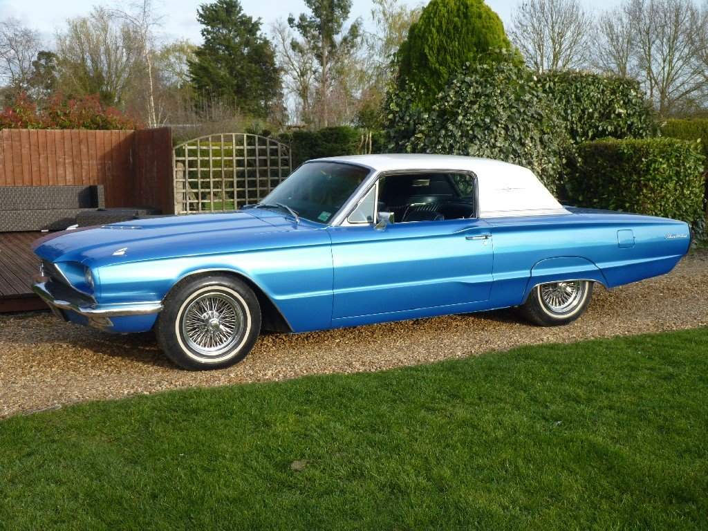 1966 Ford Thunderbird Q Code 428 Restored SOLD (picture 1 of 6)