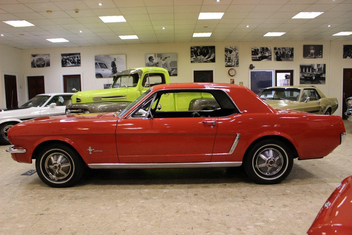 1965 1964 1/2 Ford Mustang 170 Coupe - Ford-O-Matic SOLD (picture 2 of 6)