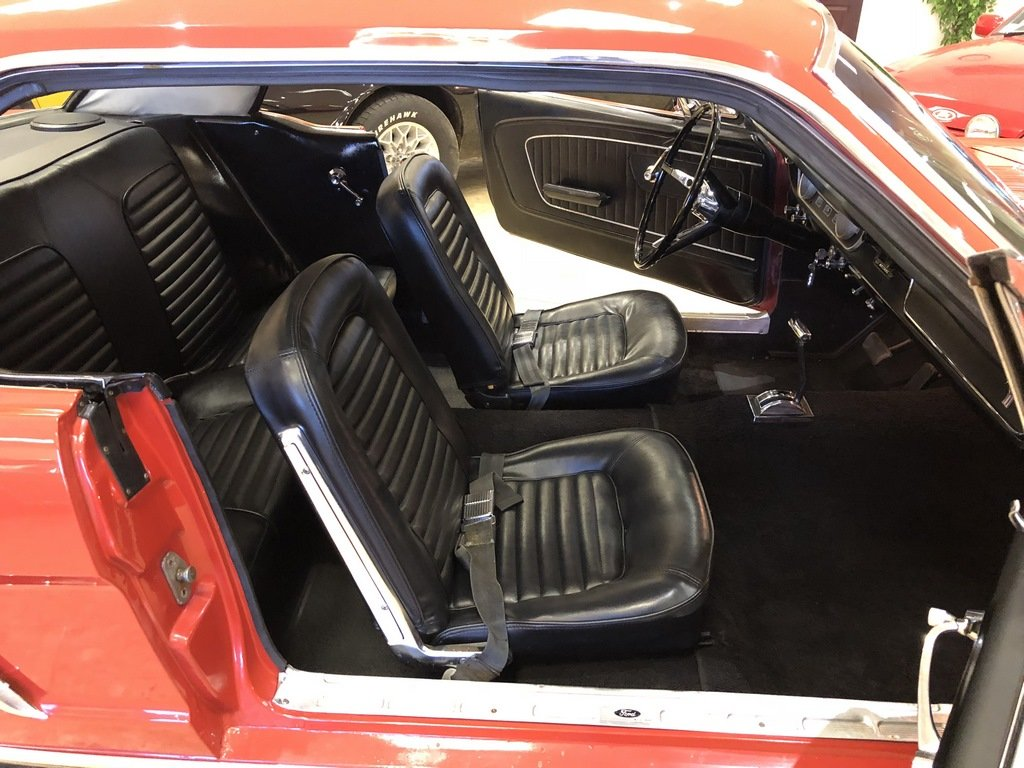 1965 1964 1/2 Ford Mustang 170 Coupe - Ford-O-Matic SOLD (picture 4 of 6)
