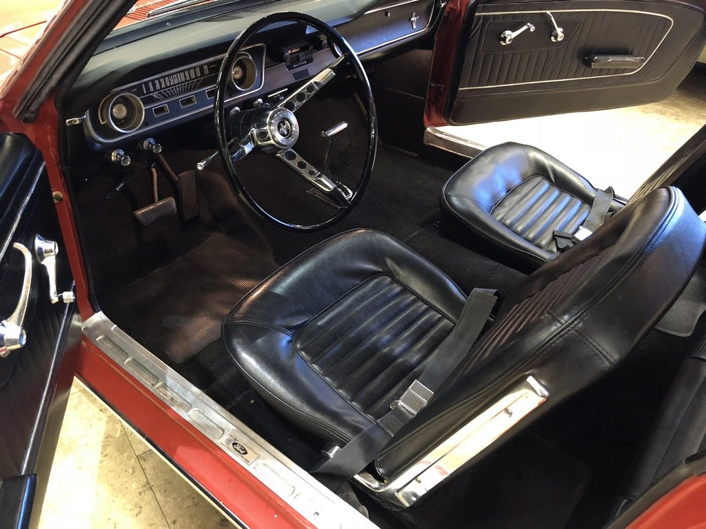 1965 1964 1/2 Ford Mustang 170 Coupe - Ford-O-Matic SOLD (picture 5 of 6)