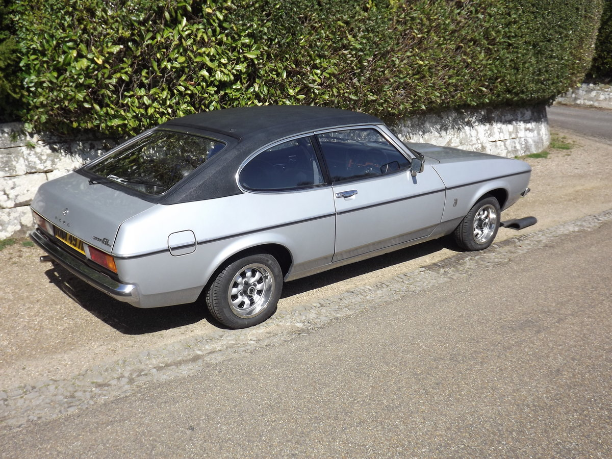 Ford Capri 1976, 2.0GL - 12,800 miles For Sale (picture 2 of 6)