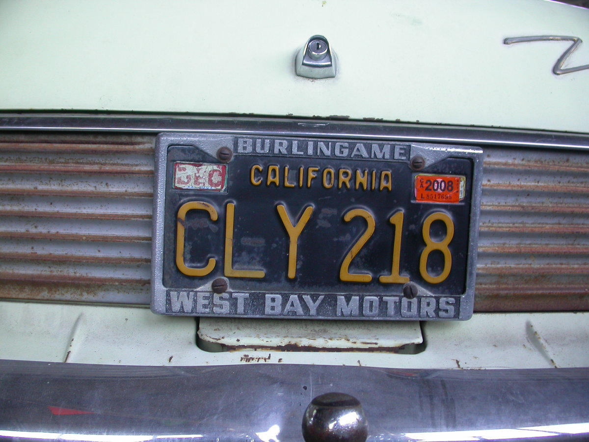 1961 LHD CALIFORNIA FORD ZODIAC $8100 shipping included For Sale (picture 4 of 6)