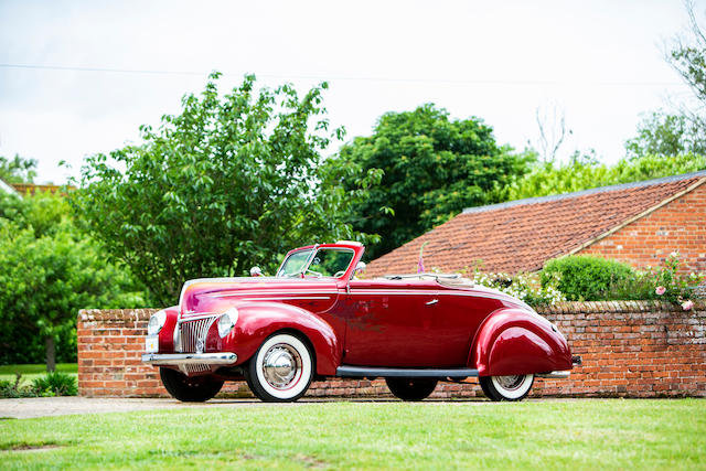 1939 Ford V8 Roadster For Sale by Auction (picture 1 of 1)