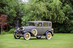 1930 Ford Model A Saloon For Sale by Auction