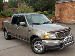 2002 Ford f150 triton supercrew 4.6 v8 lariat  48k mls For Sale