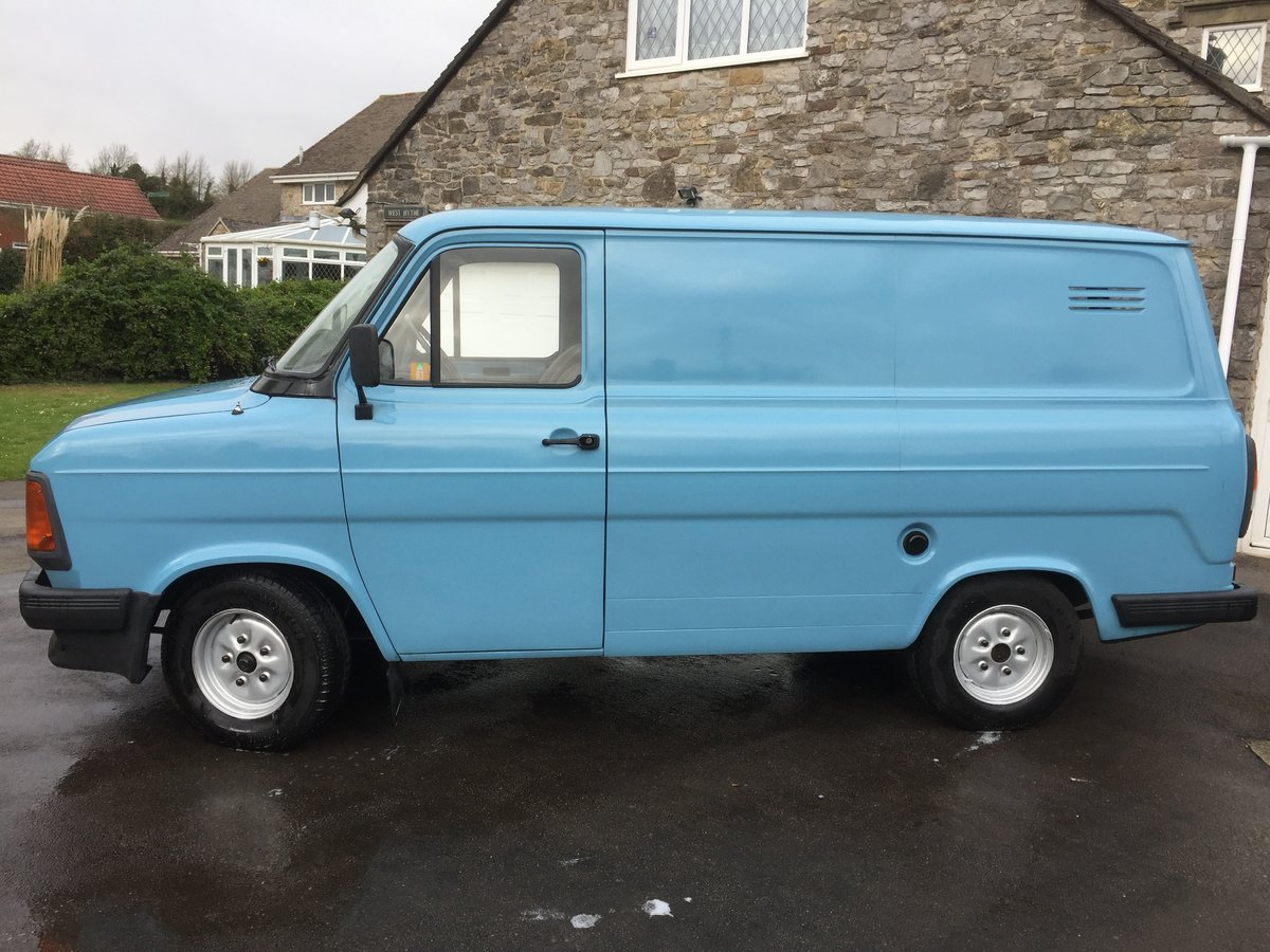 1984 Ford transit van £14,000 classic  SOLD (picture 1 of 6)