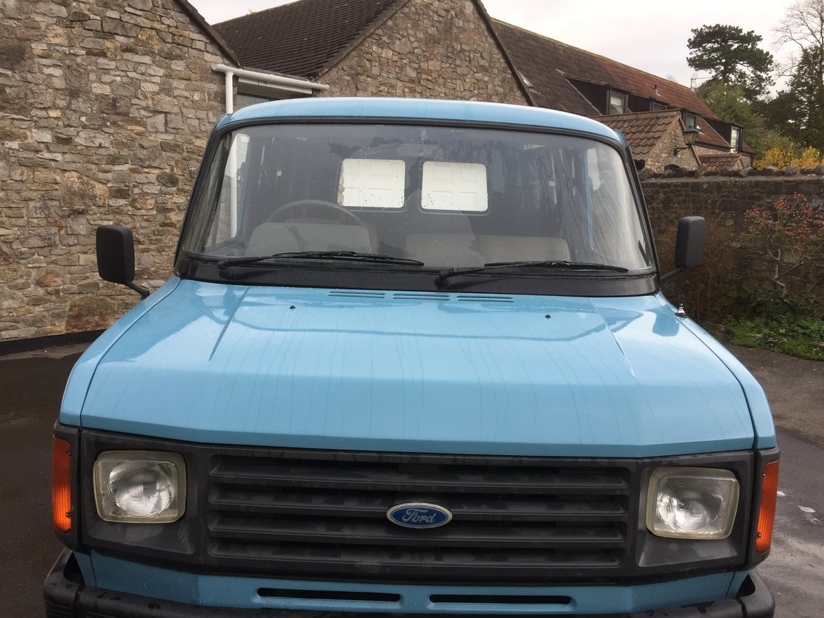 1984 Ford transit van £14,000 classic  SOLD (picture 3 of 6)