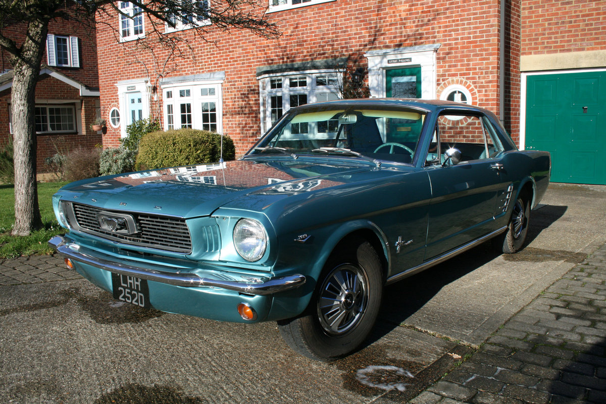 1966 Ford Mustang Coupe  SOLD (picture 1 of 6)