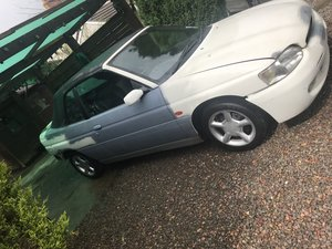 1996 Escort cabriolet project