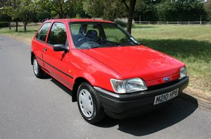 1994 Ford Fiesta 7,900 miles for auction Friday 12th July For Sale by Auction
