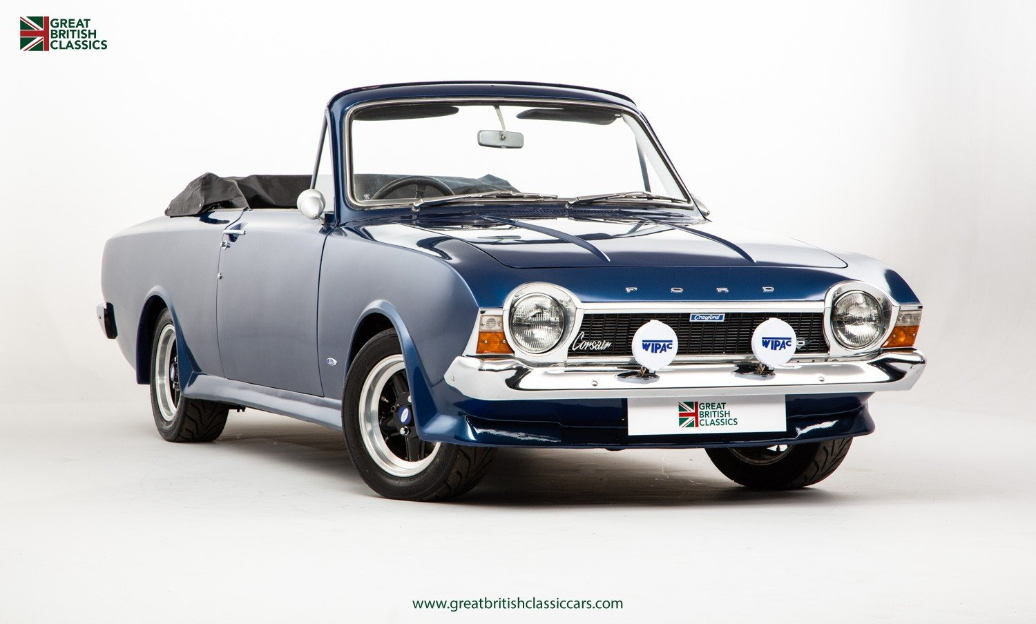1967 FORD CORSAIR CRAYFORD // CRAYFORD CONVERTIBLE // ESSEX V6 For Sale (picture 2 of 6)