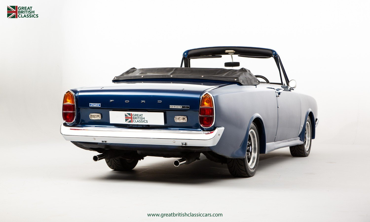 1967 FORD CORSAIR CRAYFORD // CRAYFORD CONVERTIBLE // ESSEX V6 For Sale (picture 3 of 6)