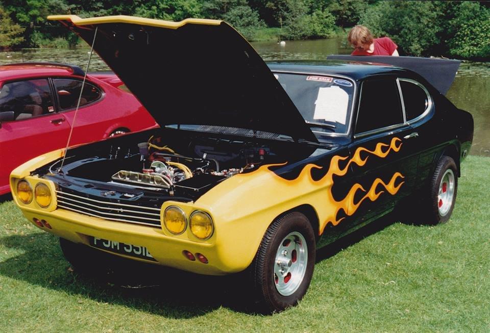 1974 Ford capri MK1 GT custom  For Sale (picture 1 of 6)