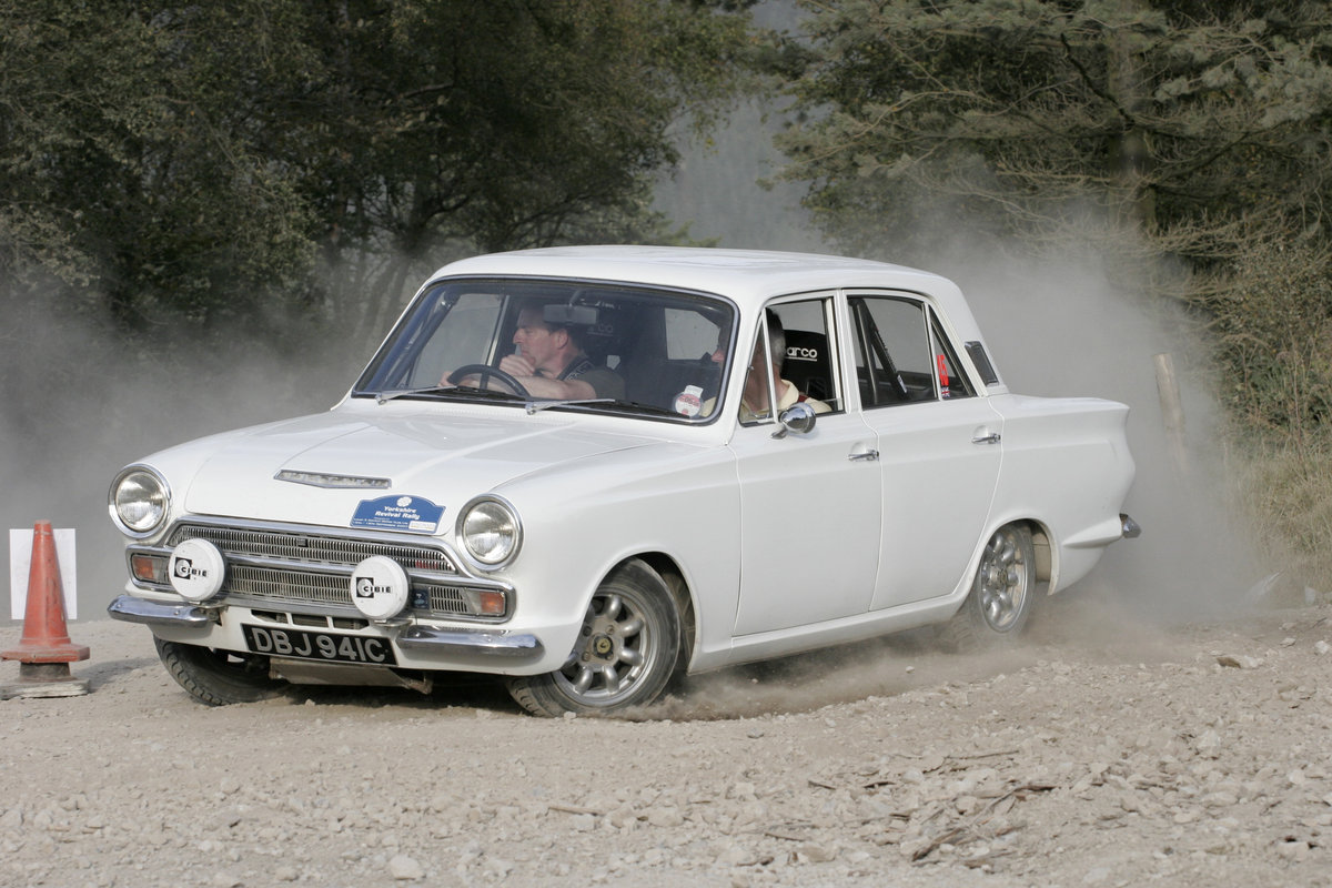 1964 Cortina Mk1 1500 Historic Rally Car  SOLD (picture 1 of 6)