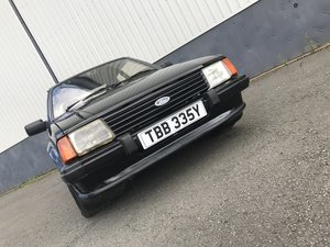 1983 Ford Escort XR3i - early car with low miles and owners