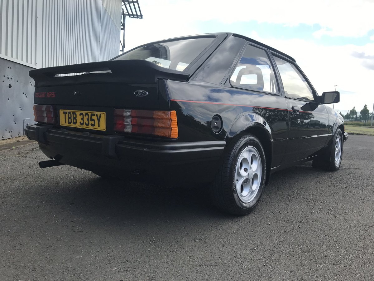 1983 Ford Escort XR3i - early car with low miles and owners For Sale (picture 4 of 6)