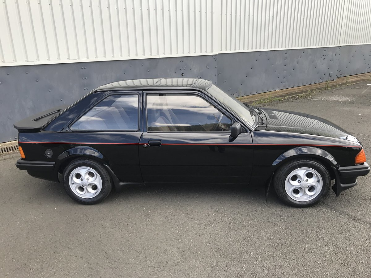 1983 Ford Escort XR3i - early car with low miles and owners For Sale (picture 6 of 6)