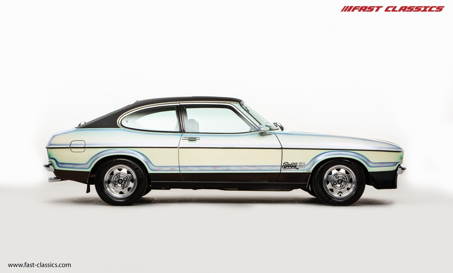 1974 FORD CAPRI STAMPEDE // 1 OF 1 // BOSS 302 V8 ENGINE For Sale (picture 1 of 6)