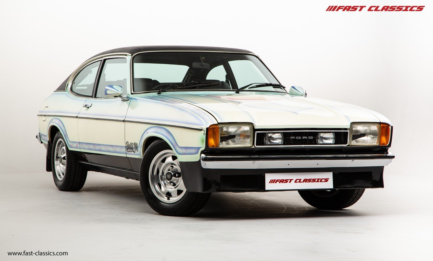 1974 FORD CAPRI STAMPEDE // 1 OF 1 // BOSS 302 V8 ENGINE For Sale (picture 2 of 6)