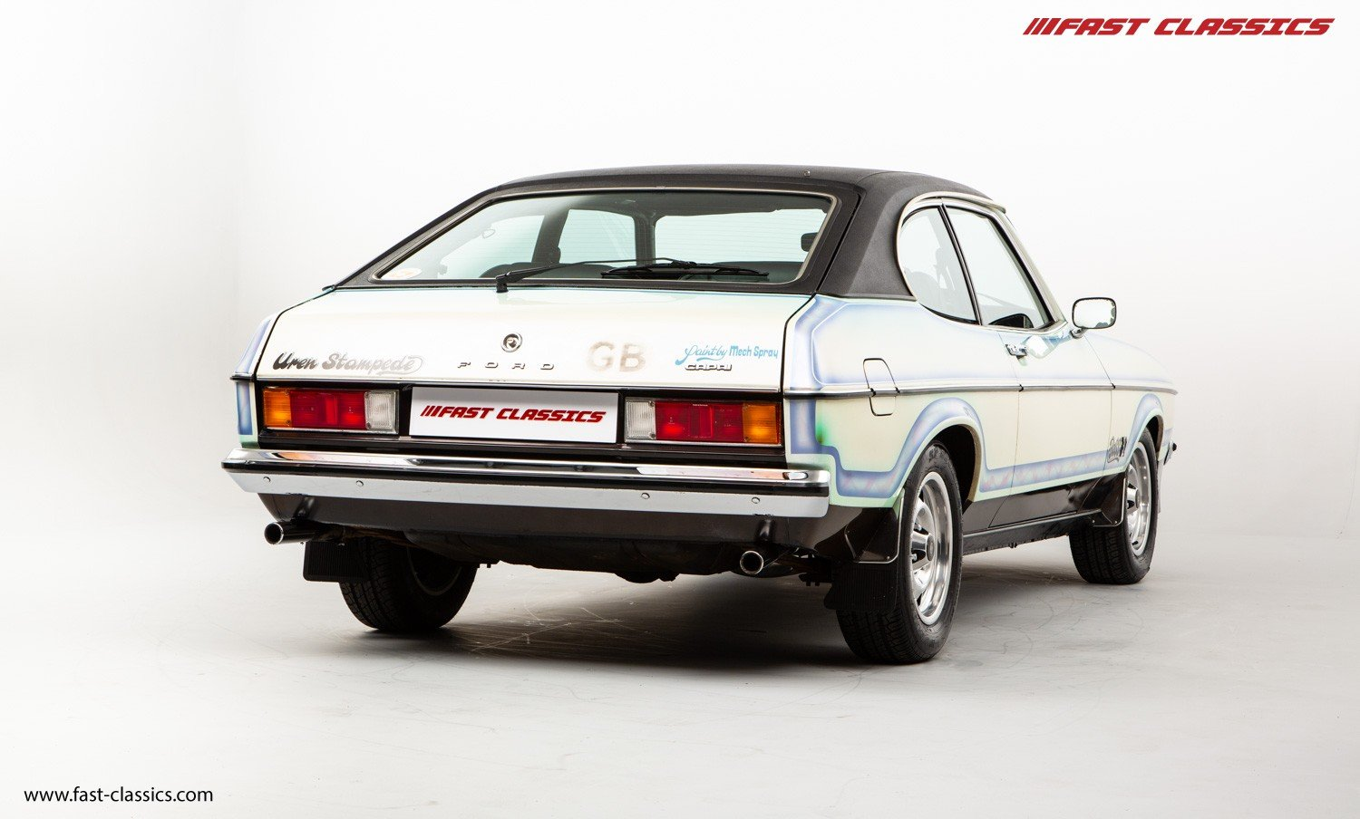 1974 FORD CAPRI STAMPEDE // 1 OF 1 // BOSS 302 V8 ENGINE For Sale (picture 3 of 6)