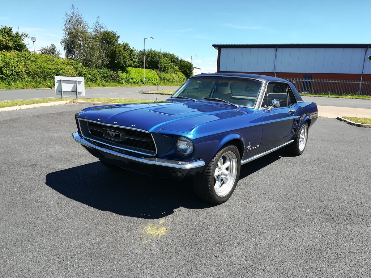 1967 Ford Mustang 289 V8 Auto With Power Steering For Sale (picture 1 of 6)