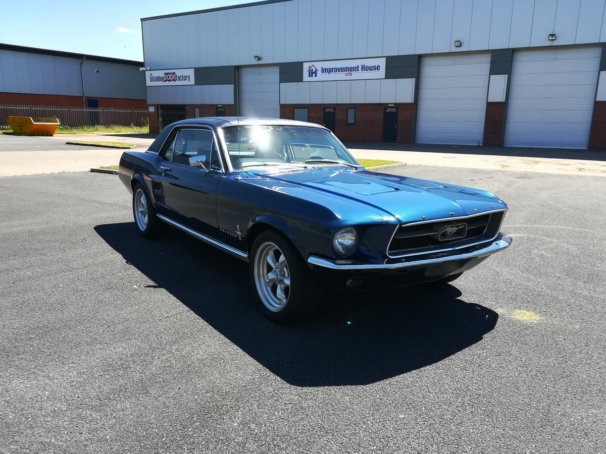 1967 Ford Mustang 289 V8 Auto With Power Steering For Sale (picture 2 of 6)
