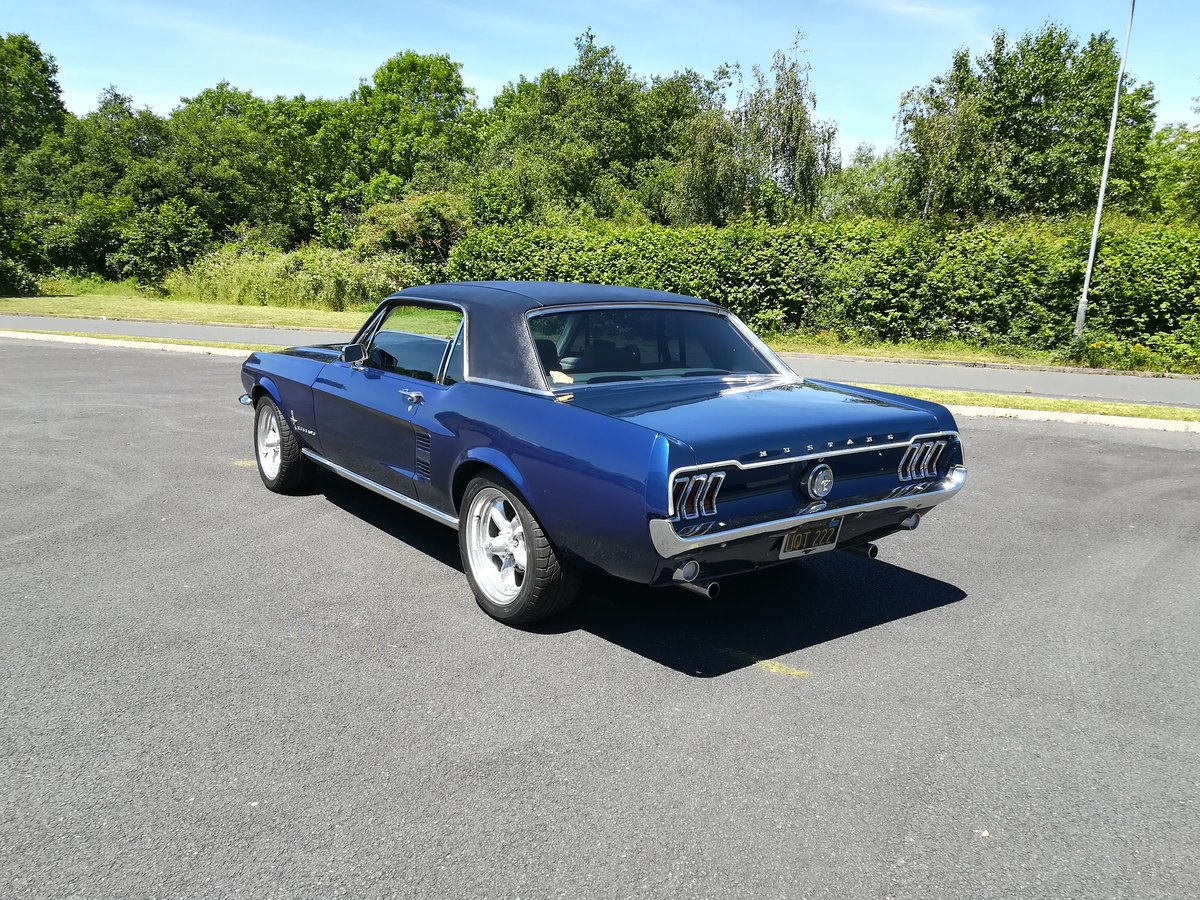 1967 Ford Mustang 289 V8 Auto With Power Steering For Sale (picture 4 of 6)