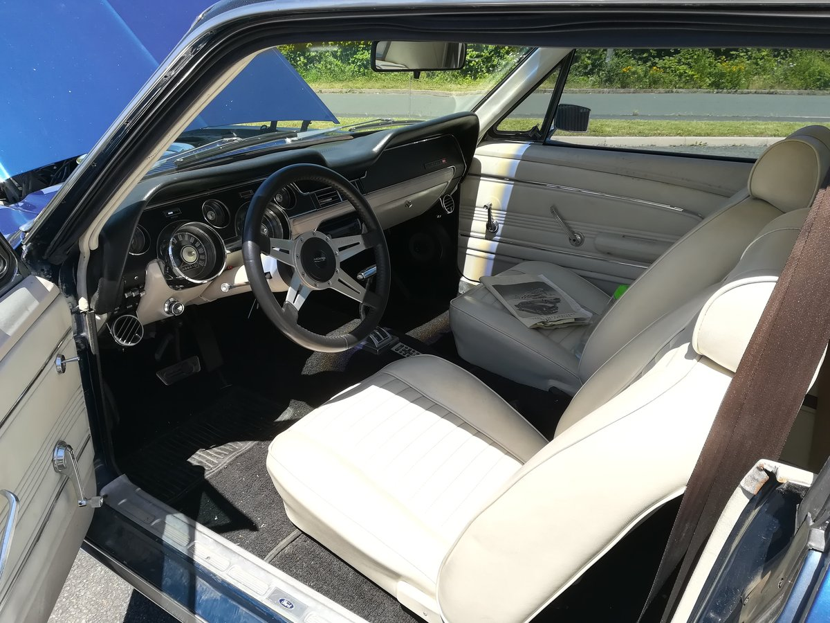 1967 Ford Mustang 289 V8 Auto With Power Steering For Sale (picture 5 of 6)