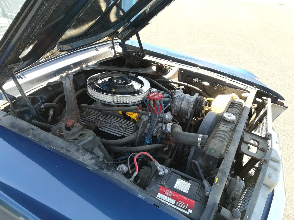 1967 Ford Mustang 289 V8 Auto With Power Steering For Sale (picture 6 of 6)