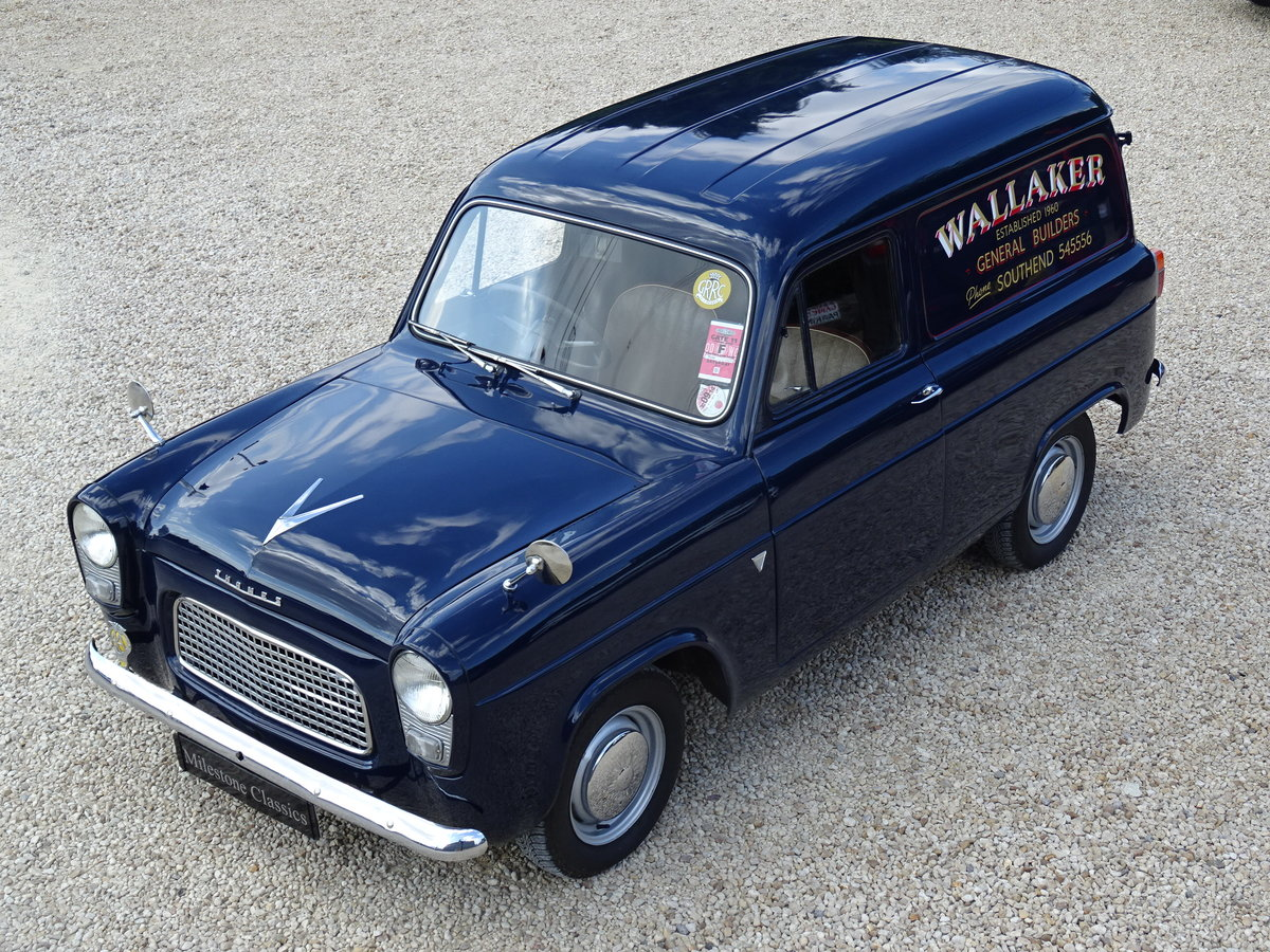 Ford Thames 300E Van – Bare Metal Restoration/Stunning SOLD (picture 1 of 6)