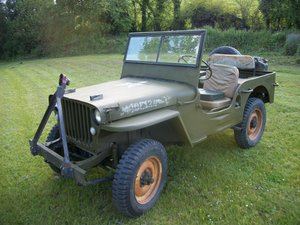 1942 willys  jeep v6