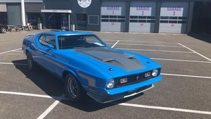 1971 71 Mustang mach 1 429 SCJ dragpack, super rare car ! For Sale