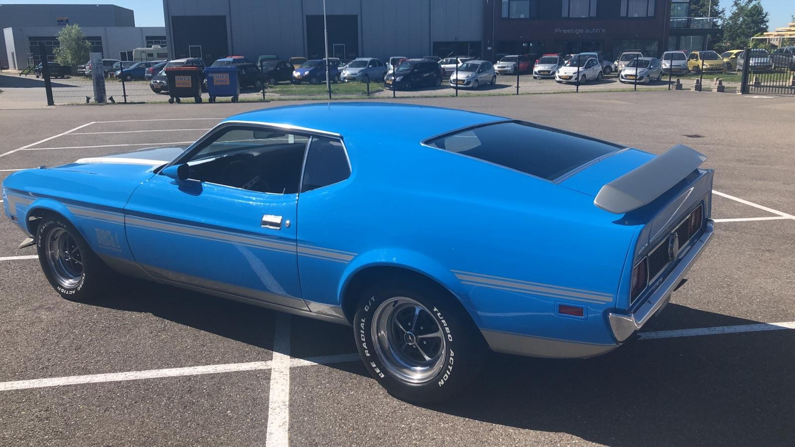 1971 71 Mustang mach 1 429 SCJ dragpack, super rare car ! For Sale (picture 3 of 6)