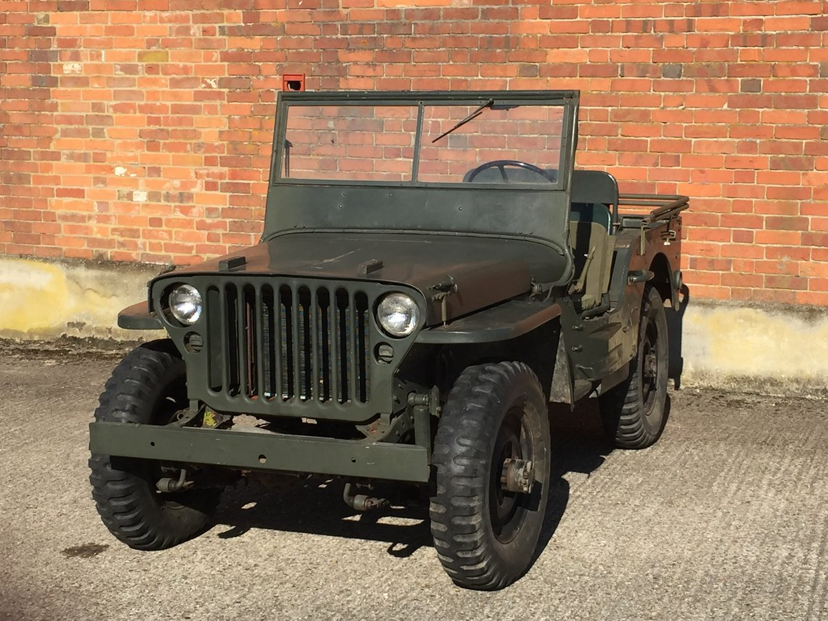 1942 Ford GPW - Very Original example For Sale (picture 1 of 6)