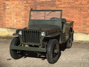 1942 Ford GPW - Very Original example