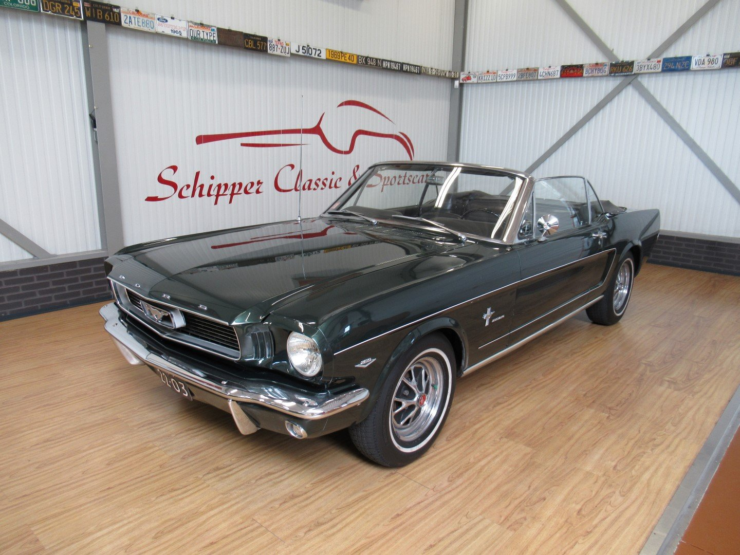 1966 Ford Mustang 289 V8 Cabrio 4 Speed Manual Second owner For Sale (picture 1 of 6)