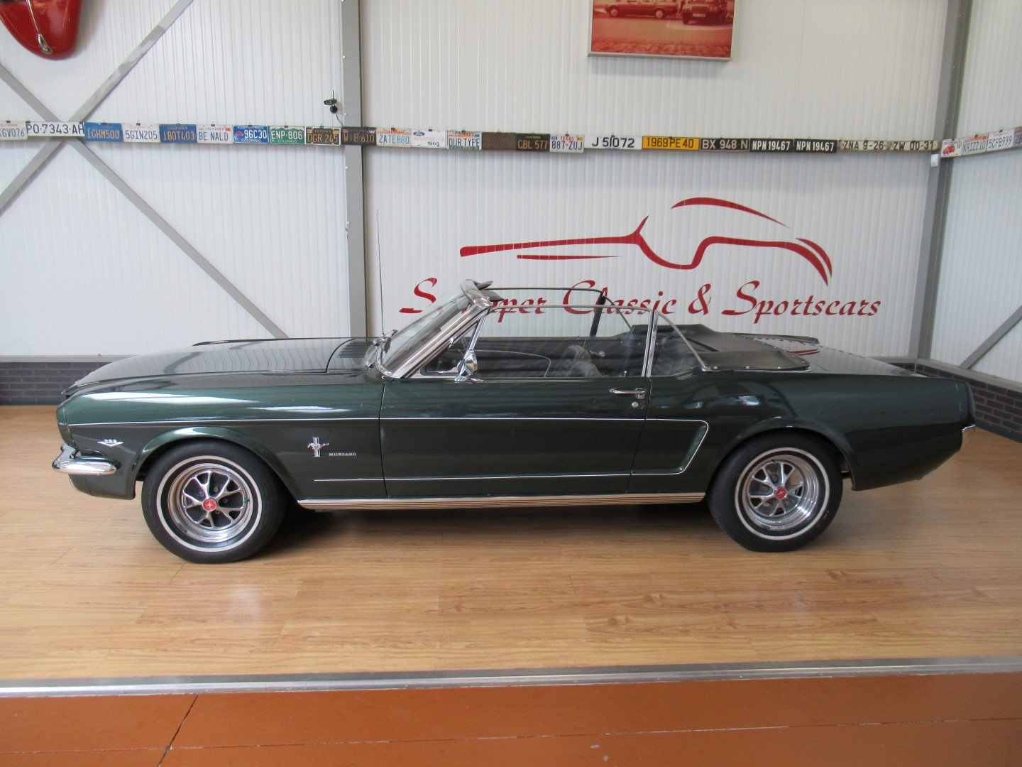 1966 Ford Mustang 289 V8 Cabrio 4 Speed Manual Second owner For Sale (picture 2 of 6)