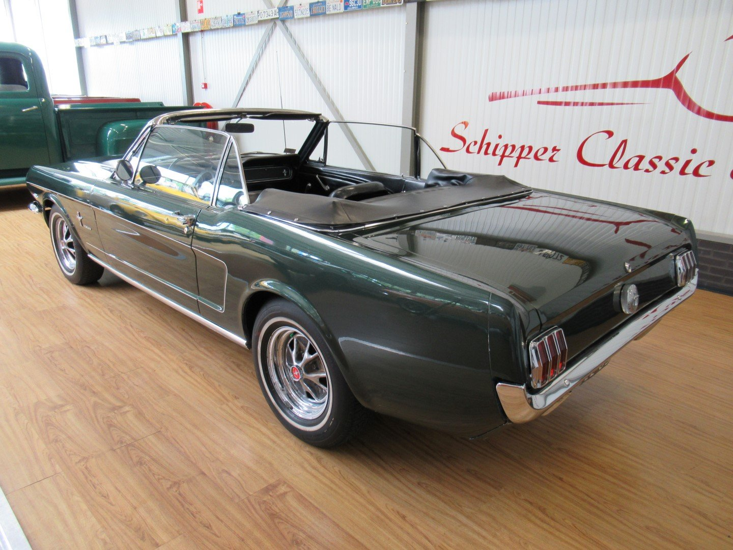 1966 Ford Mustang 289 V8 Cabrio 4 Speed Manual Second owner For Sale (picture 3 of 6)