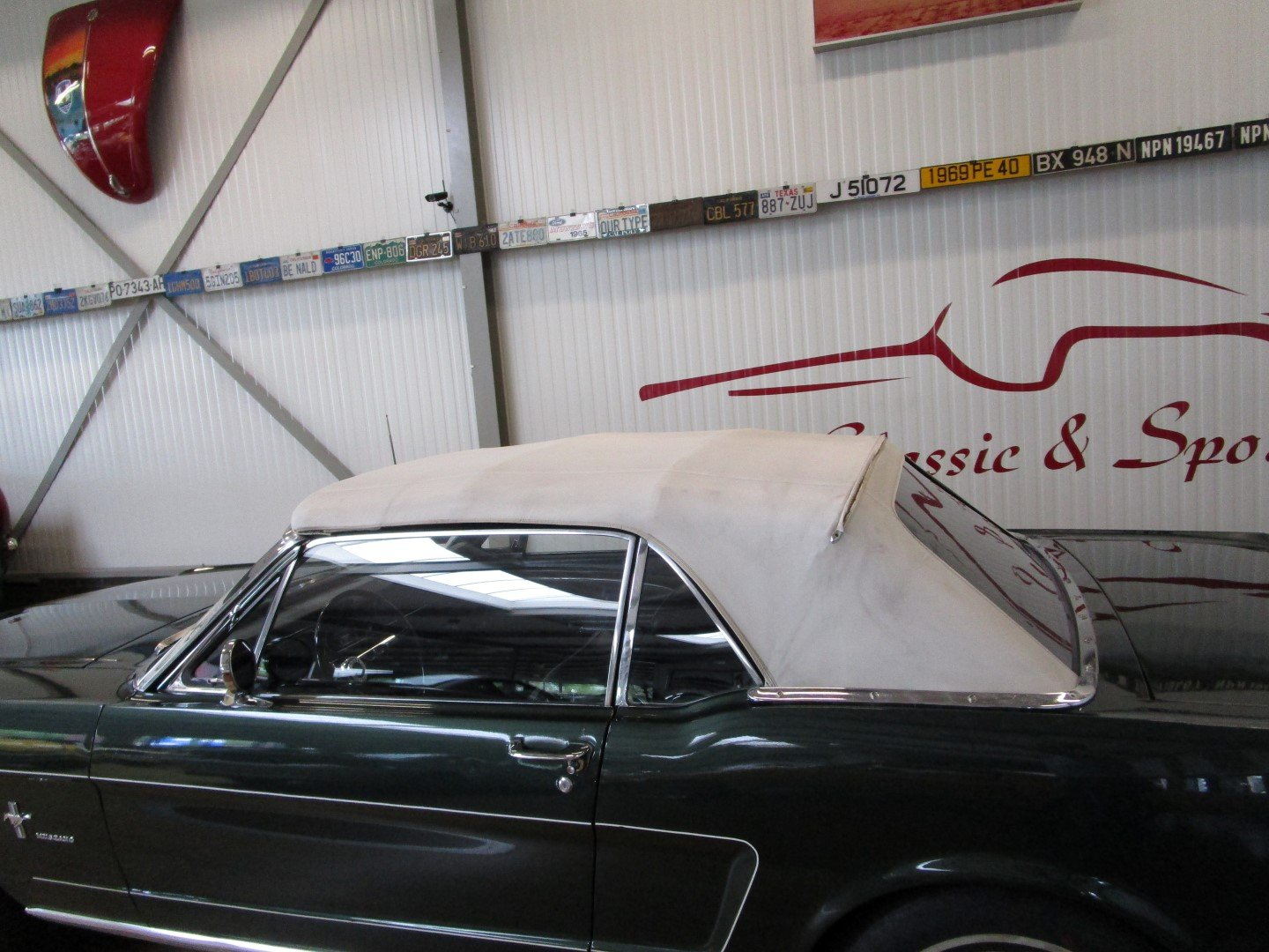 1966 Ford Mustang 289 V8 Cabrio 4 Speed Manual Second owner For Sale (picture 5 of 6)