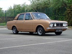 1970 Ford Cortina MKII 1600 E For Sale by Auction