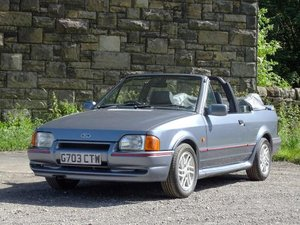 1990 Ford Escort XR3i Cabriolet For Sale by Auction